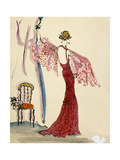 Vogue - December 1935 Regular Giclee Print by Christian Berard
