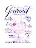 Gourmet Cover - September 2001 Regular Giclee Print by Elvis Swift