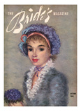 Brides Cover - August, 1945 Regular Giclee Print by  Hulda