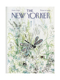 The New Yorker Cover - June 27, 1970 Regular Giclee Print by Ronald Searle