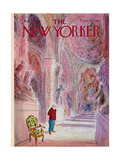 The New Yorker Cover - August 21, 1971 Giclee Print by James Stevenson