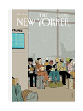 The New Yorker Cover - December 26, 2005 Giclee Print by Adrian Tomine