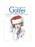 The American Golfer December 17, 1921 Regular Giclee Print by James Montgomery Flagg