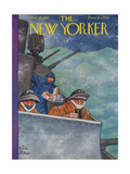 The New Yorker Cover - December 26, 1942 Giclee Print by Peter Arno