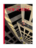 The New Yorker Cover - February 15, 1999 Giclee Print by Ian Falconer