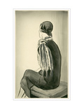 Vogue - March 1930 Regular Giclee Print by René Bouét-Willaumez