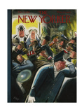 The New Yorker Cover - December 31, 1955 Regular Giclee Print by Leonard Dove