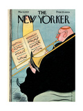 The New Yorker Cover - March 6, 1937 Giclee Print by Rea Irvin