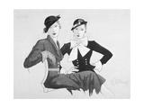 Vogue - September 1932 Giclee Print by Douglas Pollard