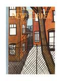The New Yorker Cover - January 21, 1974 Giclee-trykk av Donald Reilly