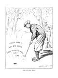 The American Golfer Cartoon November 29, 1924 Giclee Print by Chester Gande