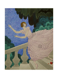 Vogue - July 1921 Giclee Print by Harriet Meserole