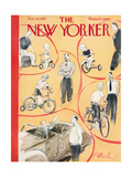The New Yorker Cover - November 16, 1957 Regular Giclee Print by Perry Barlow