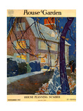 House &amp; Garden Cover - November 1917 Giclee Print by Porter Woodruff