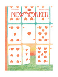 The New Yorker Cover - February 13, 1971 Regular Giclee Print by Andre Francois