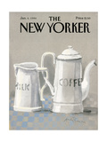 The New Yorker Cover - January 6, 1986 Regular Giclee Print by Andre Francois