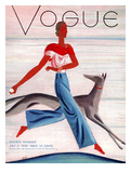 Vogue Cover - July 1930 Giclee Print by Eduardo Garcia Benito