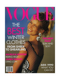 Vogue Cover - November 1990 Giclee Print by Patrick Demarchelier