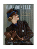 Mademoiselle Cover - September 1938 Regular Giclee Print by Paul D'Ome