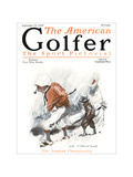 The American Golfer September 19, 1925 Regular Giclee Print by James Montgomery Flagg
