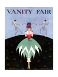 Vanity Fair Cover - December 1916 Regular Giclee Print by A. H. Fish
