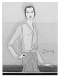 Vogue - November 1929 Regular Giclee Print by Douglas Pollard