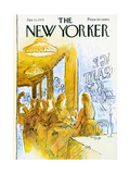 The New Yorker Cover - January 13, 1975 Giclee Print by Arthur Getz
