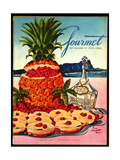 Gourmet Cover - March 1950 Regular Giclee Print by Henry Stahlhut