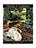House & Garden Cover - June 1926 Regular Giclee Print by Joseph B. Platt