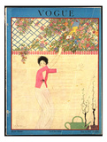 Vogue Cover - July 1918 Giclee Print by Georges Lepape