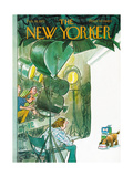 The New Yorker Cover - February 19, 1972 Regular Giclee Print by Charles Saxon