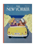 The New Yorker Cover - September 18, 1989 Giclee Print by Barbara Westman