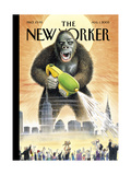 The New Yorker Cover - August 1, 2005 Giclee Print by Harry Bliss