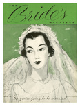 Brides Cover - April, 1936 Regular Giclee Print