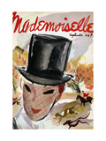 Mademoiselle Cover - September 1935 Regular Giclee Print by Helen Jameson Hall