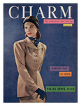 Charm Cover - January 1947 Reproduction proc&#233;d&#233; gicl&#233;e par Fritz Henle