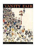 Vanity Fair Cover - October 1919 Regular Giclee Print by Jr., John Held