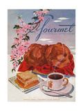 Gourmet Cover - April 1944 Regular Giclee Print by Henry Stahlhut