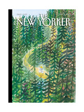 The New Yorker Cover - August 2, 2010 Reproduction procédé giclée par Jean-Jacques Sempé