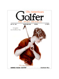 The American Golfer July 30, 1921 Regular Giclee Print by James Montgomery Flagg