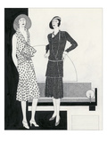 Vogue - August 1929 Reproduction procédé giclée par Polly Tigue Francis