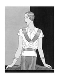 Vogue - March 1933 Regular Giclee Print by Douglas Pollard