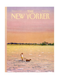 The New Yorker Cover - June 16, 1986 Regular Giclee Print par Susan Davis