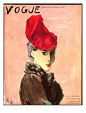 "Vogue Cover - September 1936 Giclee Print by Carl ""Eric"" Erickson"