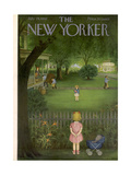 The New Yorker Cover - July 29, 1950 Giclee Print by Edna Eicke