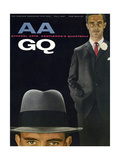 GQ Cover - September 1957 Regular Giclee Print by Emme Gene Hall