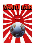 Vanity Fair Cover - February 1935 Regular Giclee Print by  Garretto