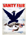 Vanity Fair Cover - September 1934 Regular Giclee Print by  Garretto