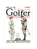 The American Golfer April 4, 1920 Regular Giclee Print by James Montgomery Flagg