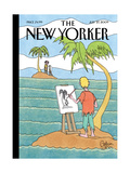 The New Yorker Cover - July 27, 2009 Giclee Print by Gahan Wilson